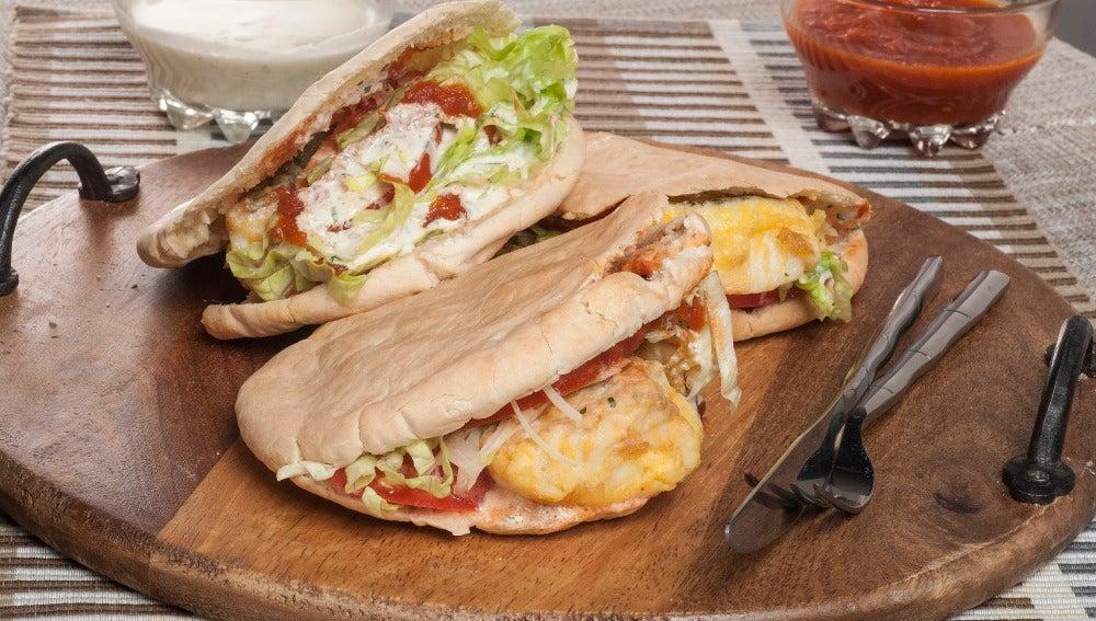 kebab de pescado para los reyes