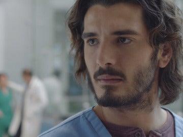 Víctor en el Hospital Policlínico Montalbán