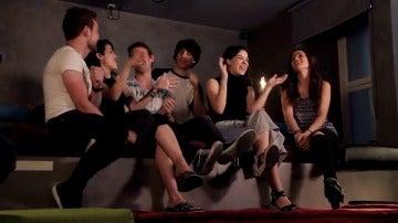 Frame 21.393724 de: Los protas de 'Física o Química' cantan la BSO en Atreseries