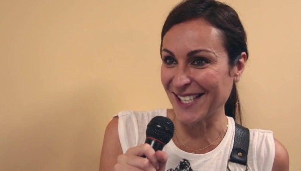 "Frame 6.844775 de: Ana Milán: ""Olimpia me hizo muy feliz"""