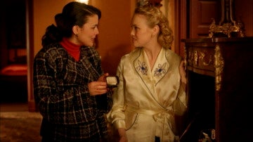 La amistad entre Sira y Rosalinda detrás de las cámaras