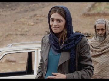 María llega a Afganistán
