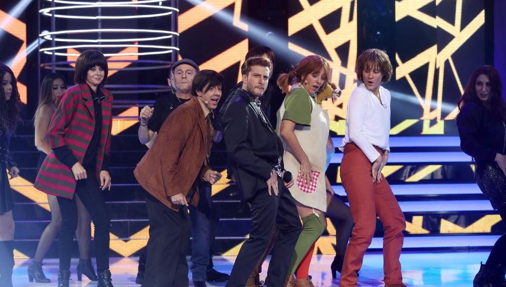 Blas Cantó triunfa con su imitación como Justin Timberlake