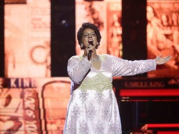 Ruth Lorenzo regresa a 'Tu cara me suena' como invitada entre aplausos y halagos de los concursantes y jurado
