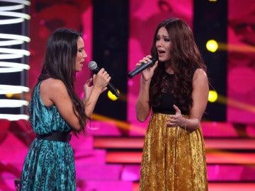 Derroche de emoción con la unión de voces de India Martínez y Lorena Gómez