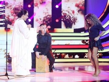 Blas Cantó arrasa en la décima gala de 'Tu cara me suena' como Falete
