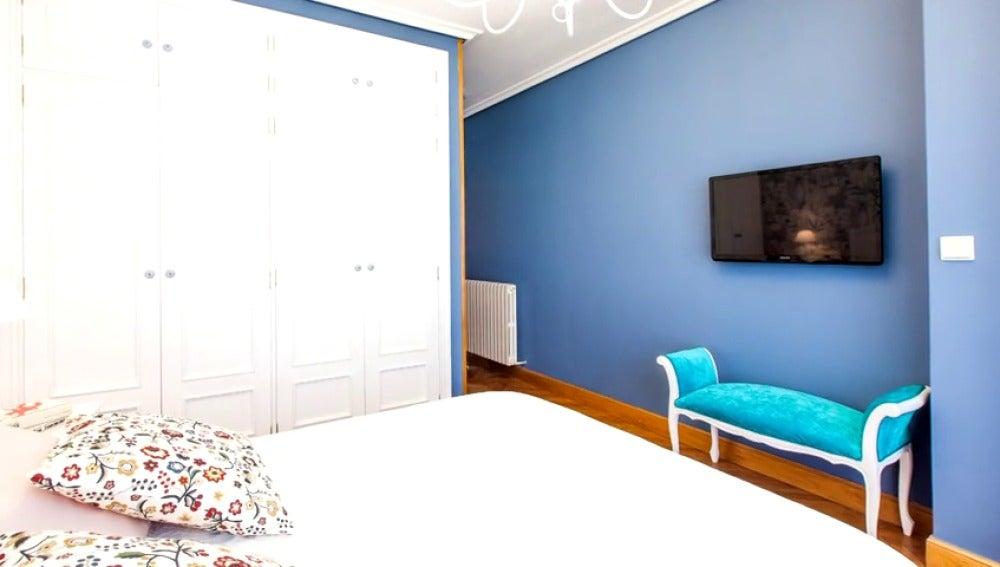 Frame 39.838627 de: Una habitación fresca,a legre y elegante