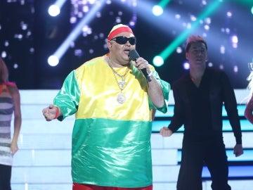 Jairo Sánchez, una auténtica 'Bomba' en su actuación como King África