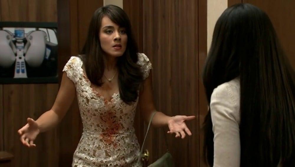 Enorme bronca entre Natalia y Diana, la mujer de Diego