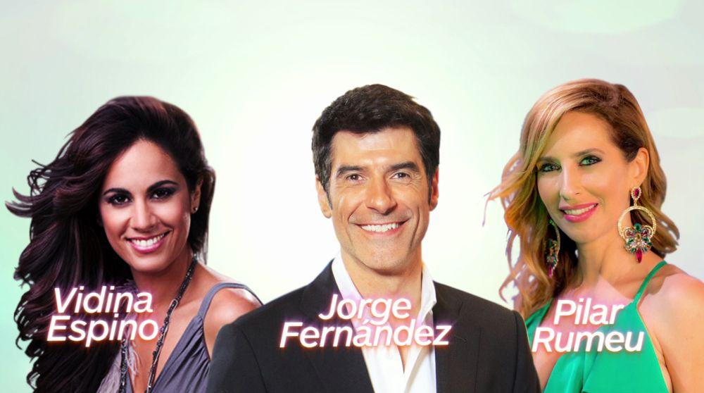 Jorge Fernández, Vidina Espino y Pilar Rumeu presentan la Gala Reina del Carnaval 2018
