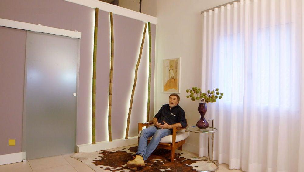 Nova Tv Un Bambu Luminoso Para Decorar Una Pared Diferente - Decoracion-bambu