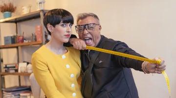 Raquel Febrer y Fran Larrañaga, estilistas de 'Cheap & Chic'