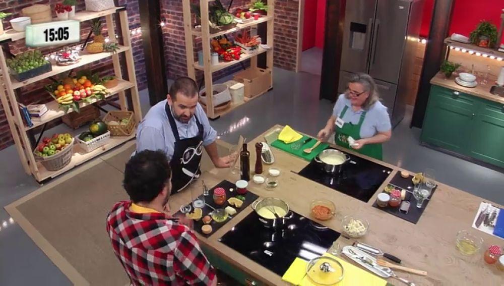 La particular visión de David de Jorge sobre cocinar a 'baja temperatura'