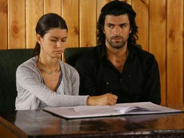 Boda en el juzgado de Fatmagül