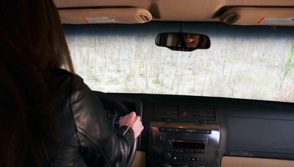 Un accidente de coche posiblemente mortal en 'Amor de contrabando'
