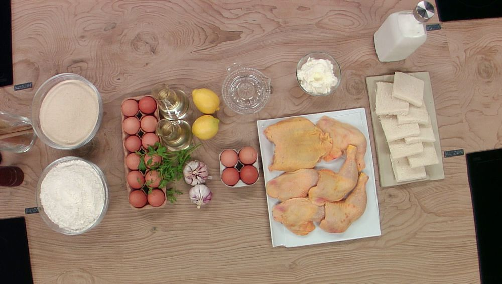 Nuggets de pollo con salsa alioli para la primera edición de 'El sabor es ciego' VIP