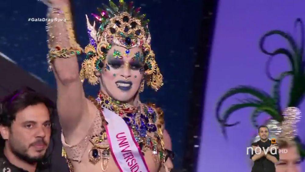 Drag Chuchi, ganador de la Gala Drag Queen