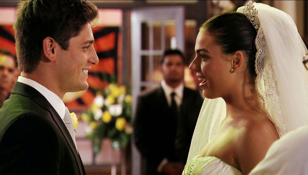 Suelen y Roni ya son marido y mujer