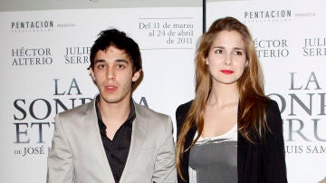 Víctor Elías y Natalia Sánchez en 2011