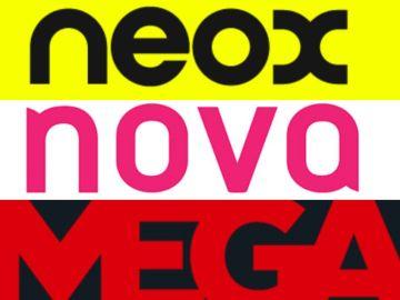 Neox, Nova y Mega
