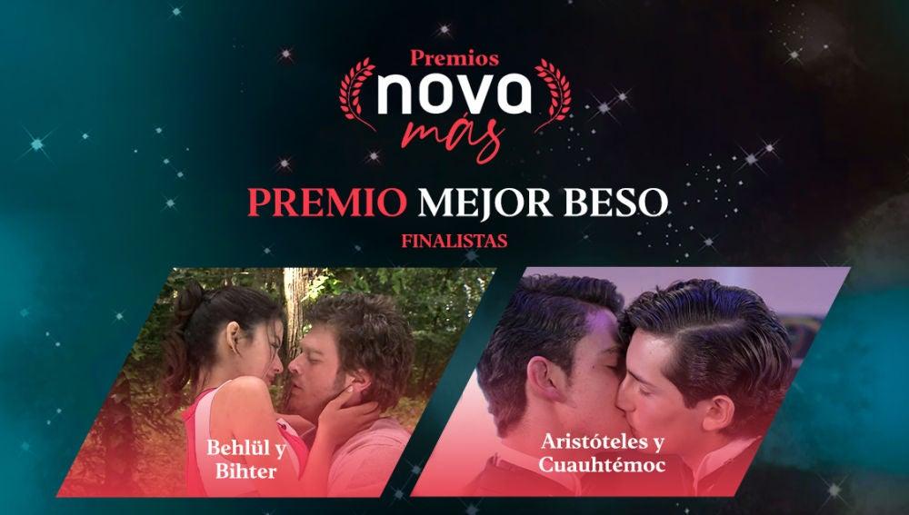 Mejor beso finalistas