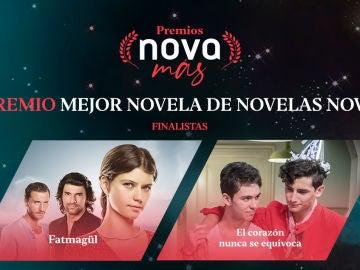 Mejor novelas de novelas Nova finalistas