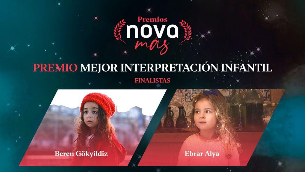 Mejor interpretación infantil finalistas
