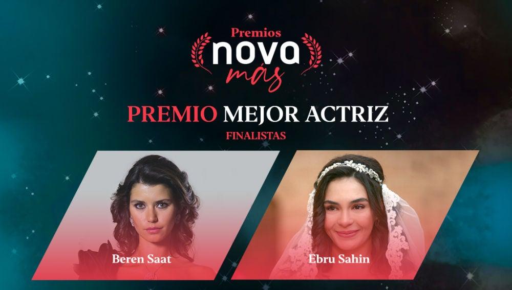 Mejor actriz finalistas