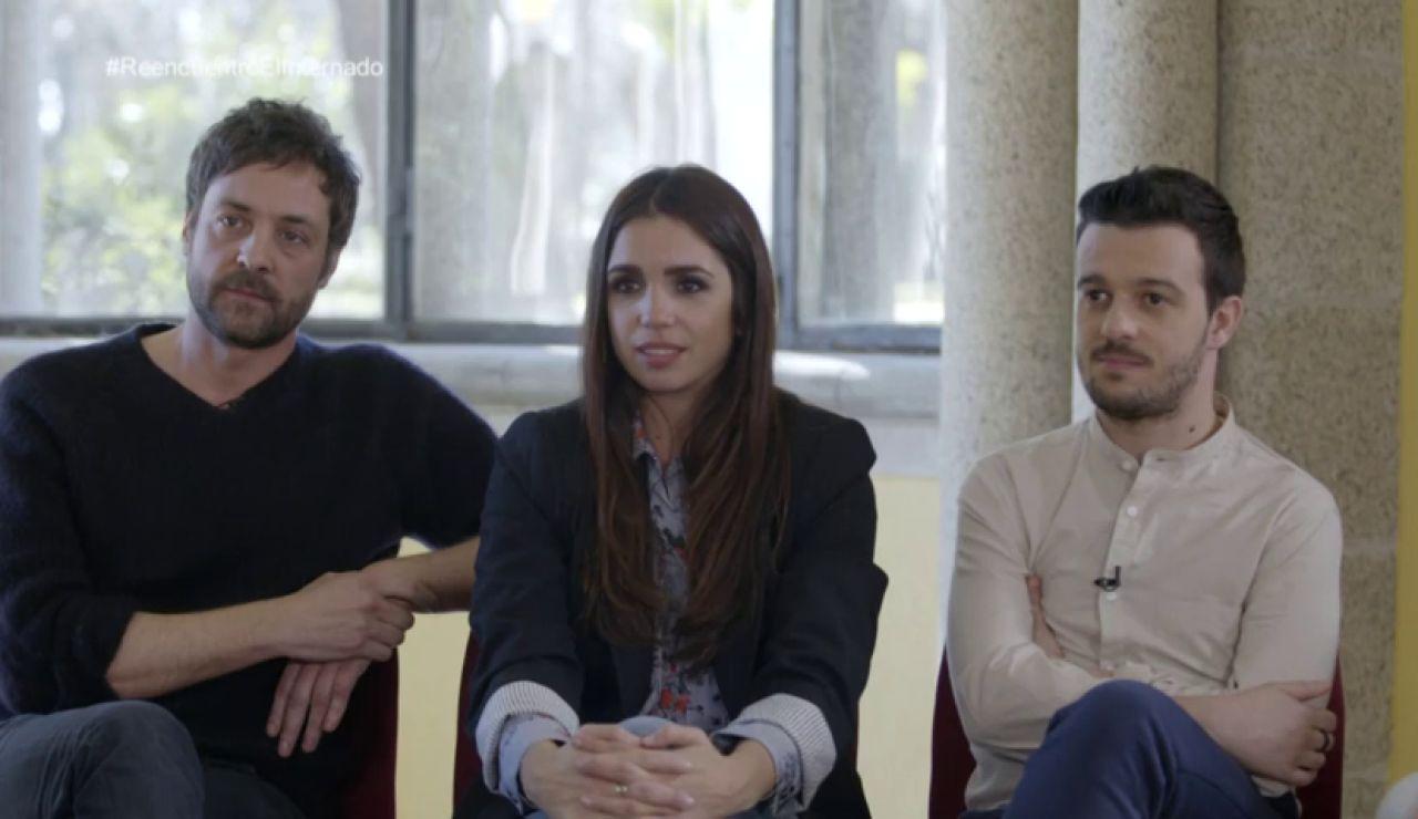 """""""Fue todo un gusto tener a Amparo Baró en 'El Internado'"""""""