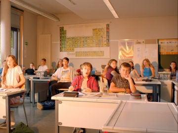 Explosión en el aula de Leon