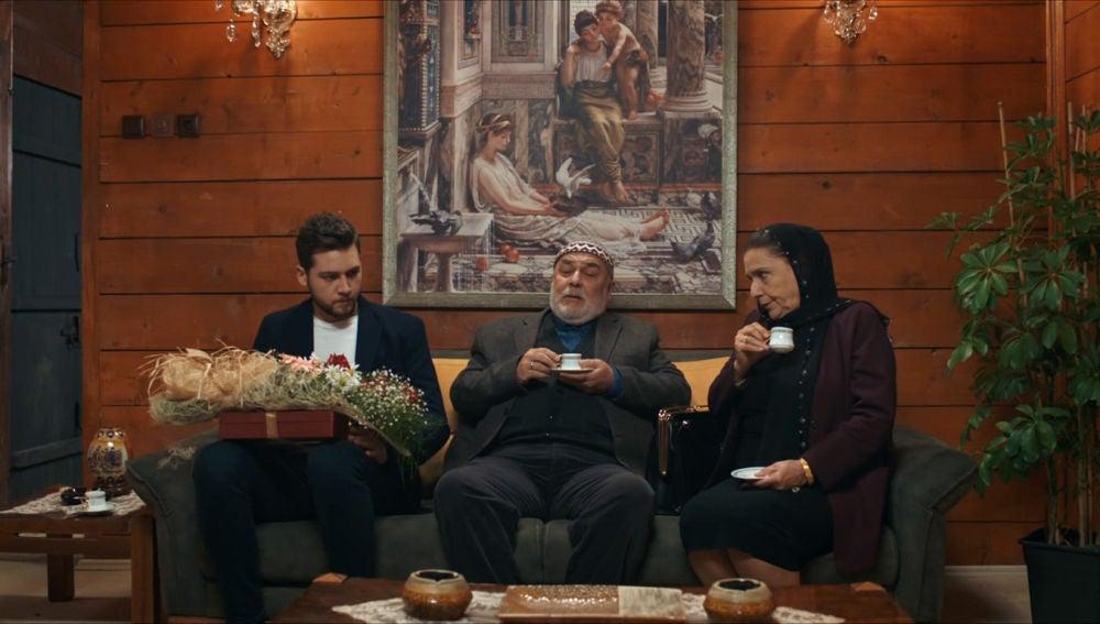 Saniye, Osman y Murat