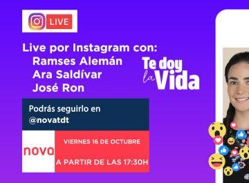 Instagram Live de Te doy la vida