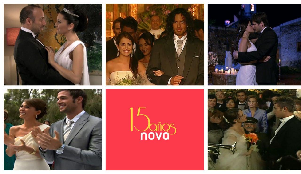 15 Años de bodas inolvidables