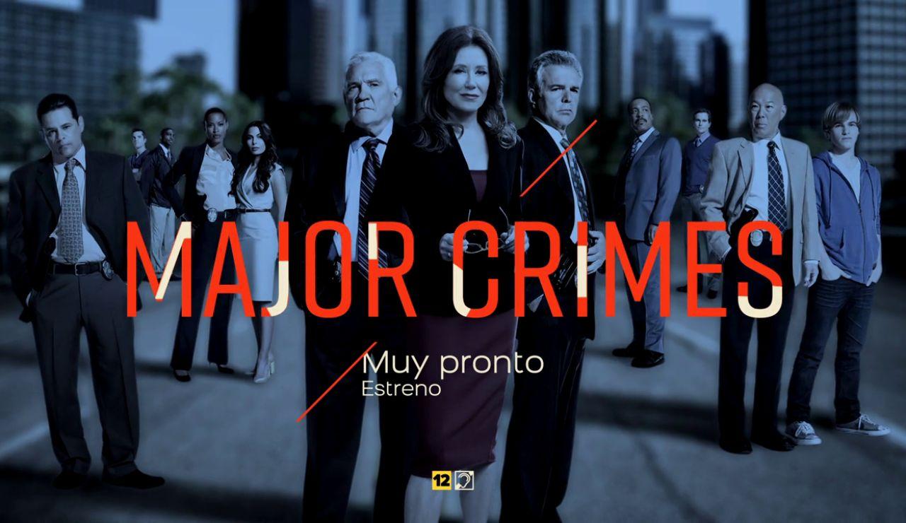 Muy pronto podrás disfrutar de 'Major Crimes' en Atreseries