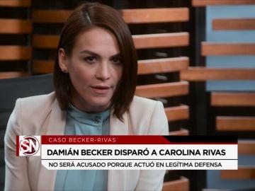 Damián paga por el asesinato de Carolina