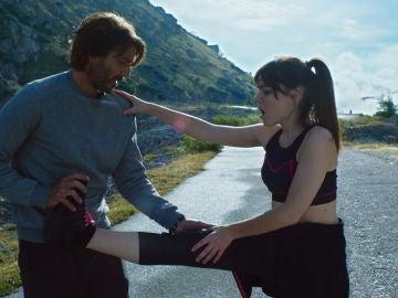 Clara se insinúa a Francesco
