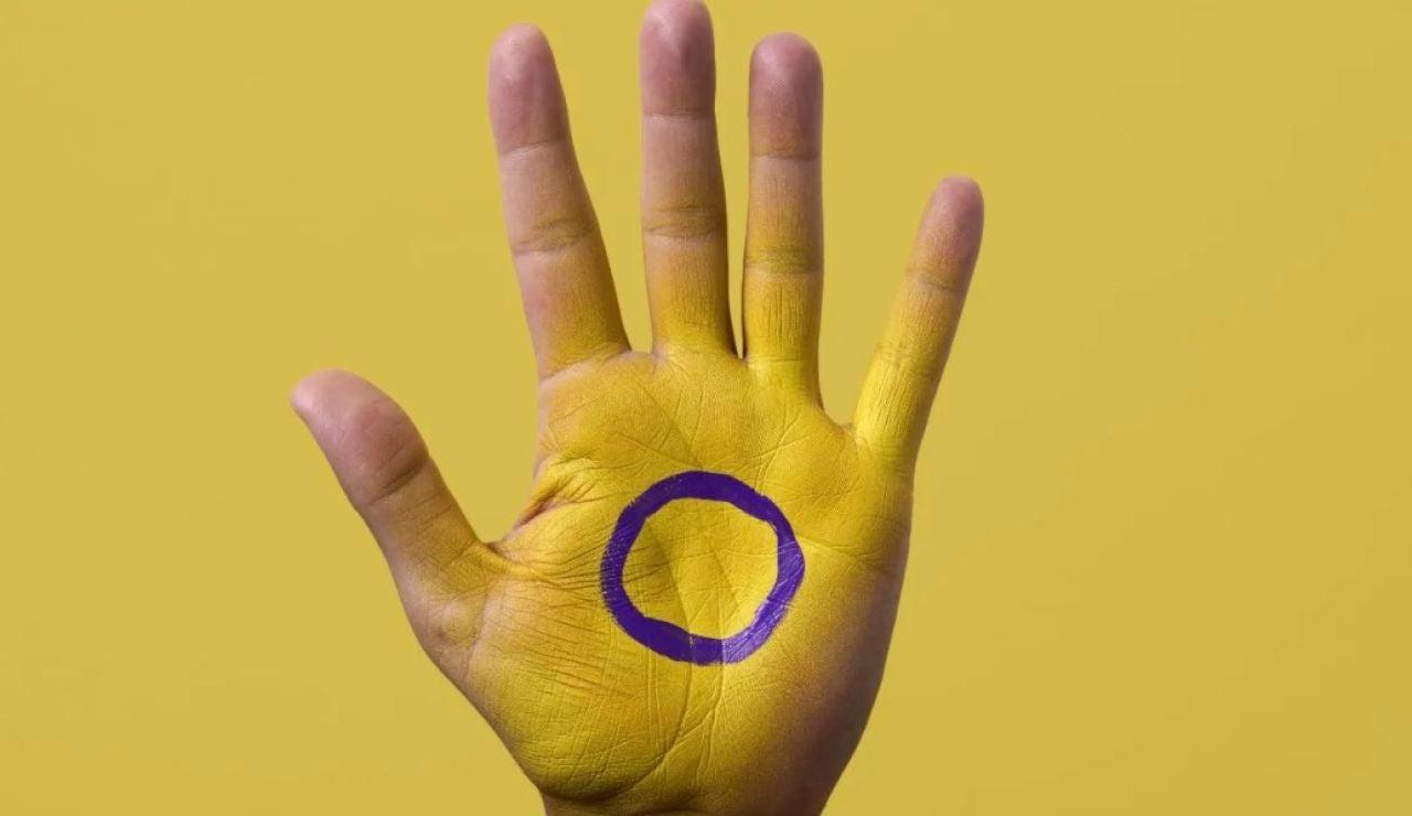El símbolo 'oficial' de la intersexualidad